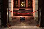 """Emergenza Coronavirus """"Facciamo luce sul teatro"""" evento per chiedere la riapertura dei teatri ad un anno dall'inizio della pandemia da Coronavirus in Italia cronaca Brescia 22/02/2021 Coronavirus emergency """"Facciamo Luce sul teatro"""" an event to ask reopen the theatres one year after Coronavirus pandemic began chronicle Brescia 22/02/2021"""