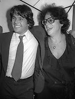 Jann Wenner Elaine Kaufman 1978<br /> Photo by Adam Scull/PHOTOlink