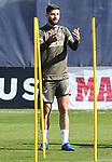 Atletico de Madrid's Felipe Augusto during training session. September 29, 2020. (ALTERPHOTOS/Atletico de Madrid/Pool)