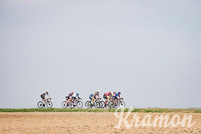 the breakaway group<br /> <br /> 85th La Flèche Wallonne 2021 (1.UWT)<br /> 1 day race from Charleroi to the Mur de Huy (BEL): 194km<br /> <br /> ©kramon
