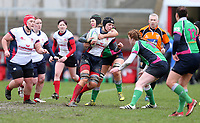 Tuesday 3rd April 2018 | Malone Women vs Ballynahinch Women<br /> <br /> Danielle Williamson during the Easter Tuesday Ulster Womens final between Malone and Ballynahinch at Kingspan Stadium, Ravenhill Park, Belfast, Northern Ireland. Photo by John Dickson / DICKSONDIGITAL