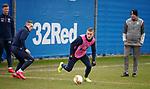 19.02.2020 Rangers training: Steven Davis