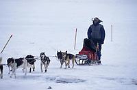 Jason Barron on Ice Near Koyuk