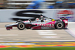 James Jakes (16) driver for Rahal Letterman Lanigan Racing in action during qualifying for the IZOD Indycar Firestone 550 race at Texas Motor Speedway in Fort Worth,Texas.