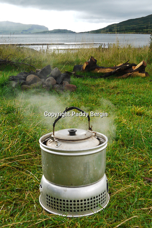 Camping,camping Isle of Mull,camping by the sea