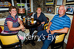 Enjoying the evening in the Brogue Inn on Friday, l to r: Anette, Clare and George Keegan