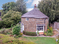 A quirky circular home in the countryside is on the market for £275,000.