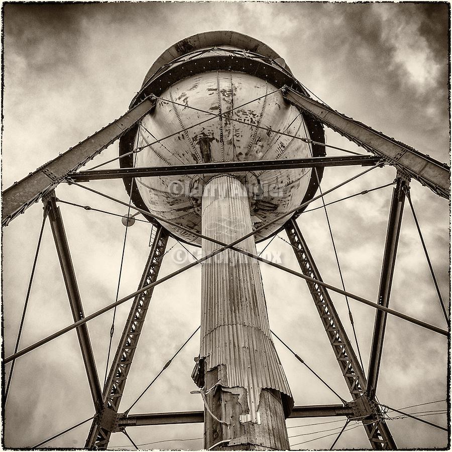 Water tower, Ruby Hill Mine, Eureka, Nev.