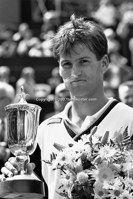 1989, Hilversum, Dutch Open, Melkhuisje, Karel Novacek winner