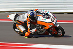 Florian  Alt (66) in action during the Red Bull MotoGP of the Americas practice session at Circuit of the Americas racetrack in Austin,Texas. ..
