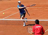 Tenis, World Championship U-14.Japan-France.Baptiste Daubigney.Prostejov, 02.08.2010..foto: Srdjan Stevanovic/Starsportphoto ©