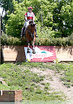 11 July 2009: Bruce (Buck) Davidson riding Ballynoecastle RM during the cross country phase of the CIC 3* Maui Jim Horse Trials at Lamplight Equestrian Center in Wayne, Illinois.