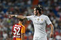 Real Madrid´s Gareth Bale during Santiago Bernabeu Trophy match at Santiago Bernabeu stadium in Madrid, Spain. August 18, 2015. (ALTERPHOTOS/Victor Blanco)