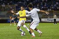 SAN SALVADOR, EL SALVADOR - SEPTEMBER 2: Tyler Adams #4 of the United States during a game between El Salvador and USMNT at Estadio Cuscatlán on September 2, 2021 in San Salvador, El Salvador.
