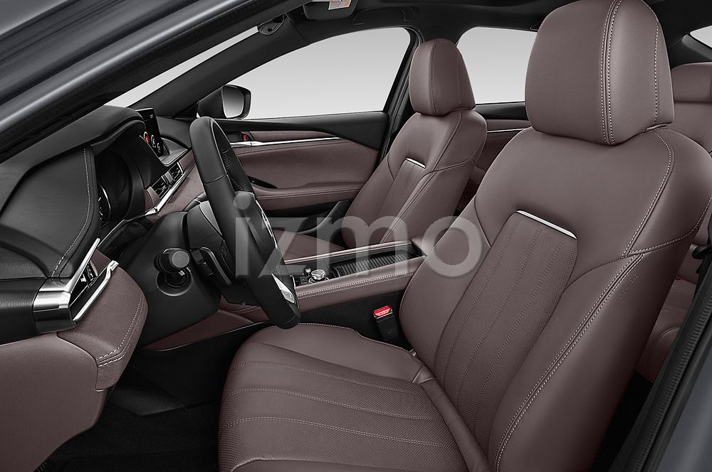 Front seat view of a 2018 Mazda Mazda6 Skycruise 4 Door Sedan front seat car photos