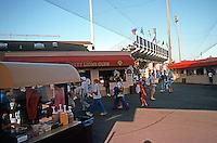 Ballparks: Everett, WA. Ballpark--evening game, July 1992.