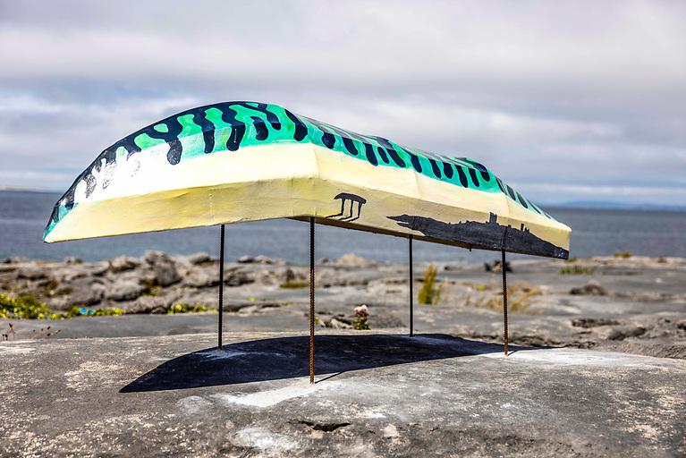Dara McGee's - 'Under a mackerel sky', part of the Curacha outdoor exhibition