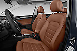 Front seat view of 2017 Volkswagen Golf-Alltrack SEL 5 Door Wagon Front Seat  car photos