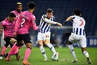 3rd January 2021; Dragao Stadium, Porto, Portugal; Portuguese Championship 2020/2021, FC Porto versus Moreirense; Toni Martínez of FC Porto shoots and scores his goal in the 88th minute 2-0