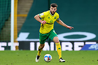 20th February 2021; Carrow Road, Norwich, Norfolk, England, English Football League Championship Football, Norwich versus Rotherham United; Grant Hanley of Norwich City