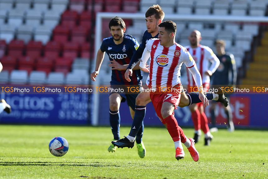 Jack Aitchison of Stevenage FC during Stevenage vs Bradford City, Sky Bet EFL League 2 Football at the Lamex Stadium on 5th April 2021