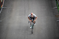 German National Champion Pascal Ackermann (DEU/BORA-hansgrohe) in the final meters of the stage<br /> <br /> Stage 17: Commezzadura (Val di Sole) to Anterselva/Antholz (181km)<br /> 102nd Giro d'Italia 2019<br /> <br /> ©kramon