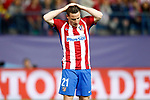 Atletico de Madrid's Kevin Gameiro dejected during Champions League 2016/2017 Semi-finals 2nd leg match. May 10,2017. (ALTERPHOTOS/Acero)