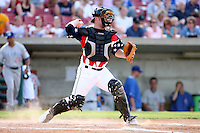 July 3, 2007: Matt Smith of the Kane County Cougars at Elfstrom Stadium in Geneva, IL  Photo by:  Chris Proctor/Four Seam Images