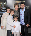 """Andy Serkis,Lorraine Ashbourne with Sonny,Louis & Ruby attends The 20th Century Fox L.A. Premiere of """"Rise of the Planet of The Apes"""" held at The Grauman's Chinese Theatre in Hollywood, California on July 28,2011                                                                               © 2011 DVS / Hollywood Press Agency"""