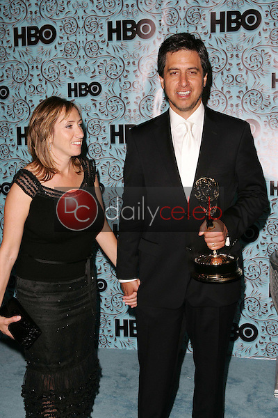 Ray Romano and wife Anna<br />