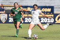Cal Soccer W vs University of San Francisco, September 16, 2016