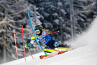 29th December 2020; Semmering, Austria; FIS Womens Giant Slalom World Cup Skiing; Riikka Honkanen of Finland during her 1st run of women Slalom competition of FIS ski alpine world cup at the Panoramapiste in Semmering
