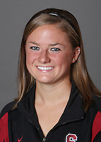 STANFORD, CA - OCTOBER 28:  Corinne Smith of the Stanford Cardinal synchronized swimming team poses for a headshot on October 28, 2009 in Stanford, California.