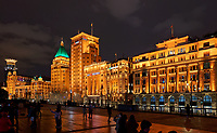 The Bund in Shanghai, China