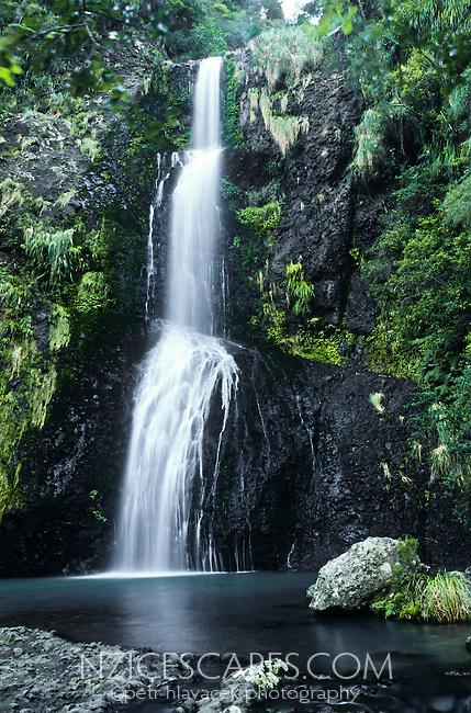 Kitekite Falls near Piha - West Auckland, New Zealand