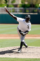 Nevin Griffith - Chicago White Sox 2009 Instructional League. .Photo by:  Bill Mitchell/Four Seam Images..