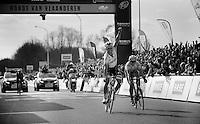 Flanders-winner for the 3rd time: Tom Boonen..De Ronde van Vlaanderen 2012