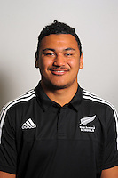 Isaia Walker. The 2015 New Zealand Schools rugby union team headshots at NZ Sports Institute, Palmerston North, New Zealand on Friday, 18 September 2015. Photo: Dave Lintott / lintottphoto.co.nz