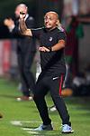 Atletico de Madrid's coach Angel Villacampa during UEFA Womens Champions League 2017/2018, 1/16 Final, 1st match. October 4,2017. (ALTERPHOTOS/Acero)