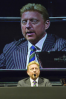 09-02-13, Tennis, Rotterdam, qualification ABNAMROWTT, Draw, Boris Becker