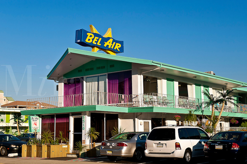 Bel Air Motel, Wildwood, NJ, New Jersey, USA