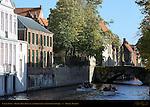 Tourist Boat Race on the Groenerei at Steenhouwersdijk, Bruges, Brugge, Belgium