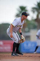 Pittsburgh Pirates Hunter Owen (2) during an Instructional League game against the Baltimore Orioles on September 27, 2017 at Ed Smith Stadium in Sarasota, Florida.  (Mike Janes/Four Seam Images)