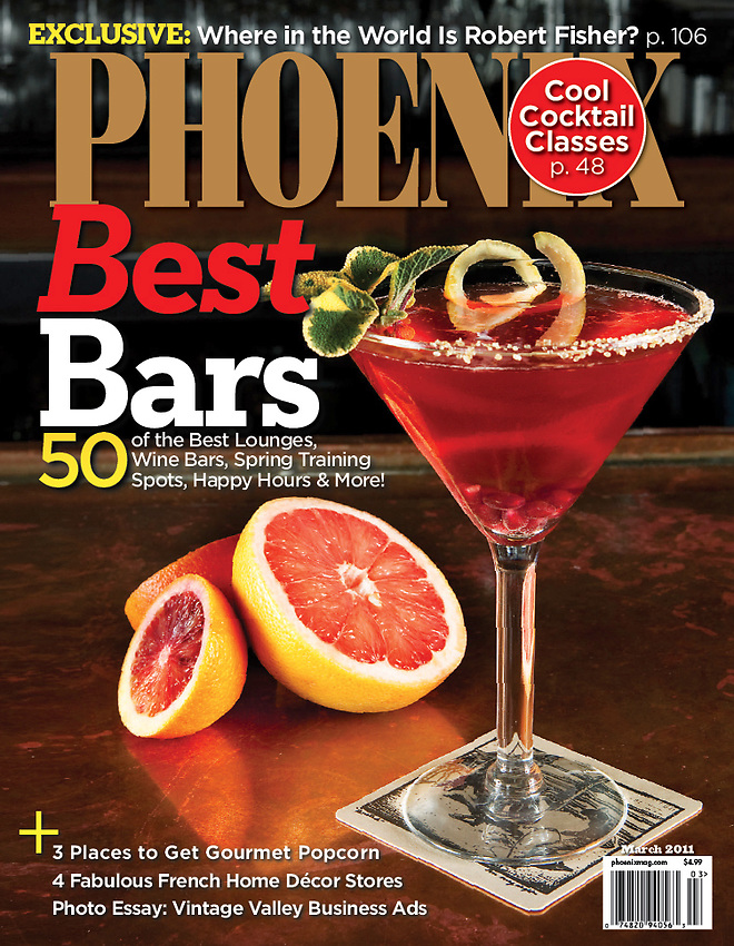 Phoenix Magazine Cover Art, March 2011
