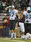 Tulane defeats ULM, 31-14, in football action at Malone Stadium on the campus of the University of Louisiana Monroe.
