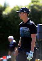 Daniel Hillier after chipping onto the 18th during the final. Final day of the Jennian Homes Charles Tour / Brian Green Property Group New Zealand Super 6s at Manawatu Golf Club in Palmerston North, New Zealand on Sunday, 8 March 2020. Photo: Dave Lintott / lintottphoto.co.nz