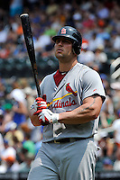 St. Louis Cardinals outfielder Matt Holliday #7 during a game against the New York Mets at Citi Field on July 21, 2011 in Queens, NY.  Cardinals defeated Mets 6-2.  Tomasso DeRosa/Four Seam Images