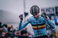 top race for young gun Michael Vanthourenhout (BEL/Marlux-Bingoal) who finishes 2nd<br /> <br /> Elite Men's Race<br /> UCI CX Worlds 2018<br /> Valkenburg - The Netherlands