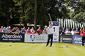 Anthony Wall (ENG) during the semi final round of the Aberdeen Asset Management Paul Lawrie Matchplay being played over the Fidra Links at Archerfield, East Lothian from 4th to 7th August 2016:  Picture Stuart Adams, www.golftourimages.com: 06/08/2016