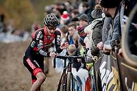 Michael Vanthourenhout (BEL/PauwelsSauzen-Bingoal)<br /> <br /> Elite Men's Race<br /> UCI cyclocross WorldCup - Koksijde (Belgium)<br /> <br /> ©kramon